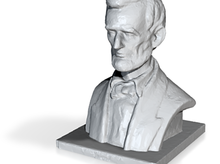 Lincoln 2mm 3d printed