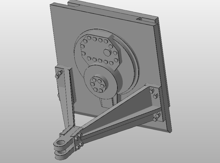 1:50 Hitch for Norscot/Diecast Masters D8R  3d printed