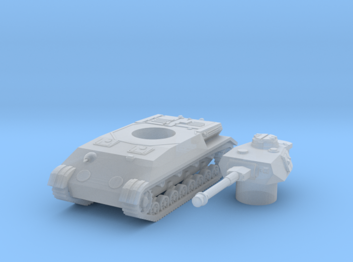 Panzer IV K scale 1/285 3d printed