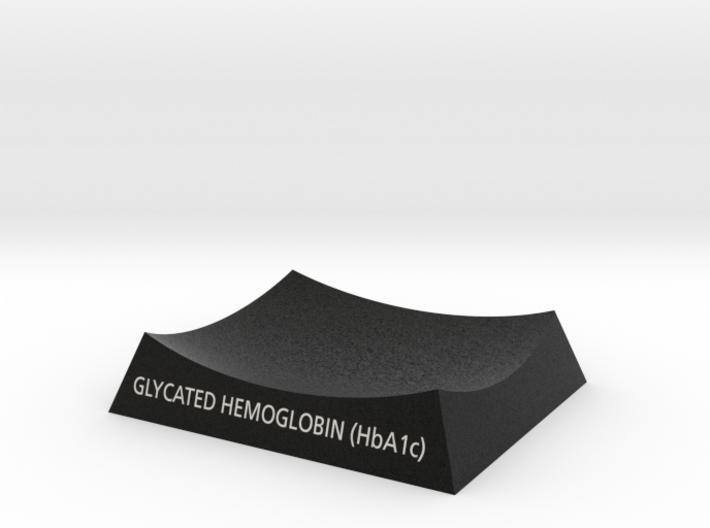 Glycated Hemoglobin HbA1c Base 3d printed