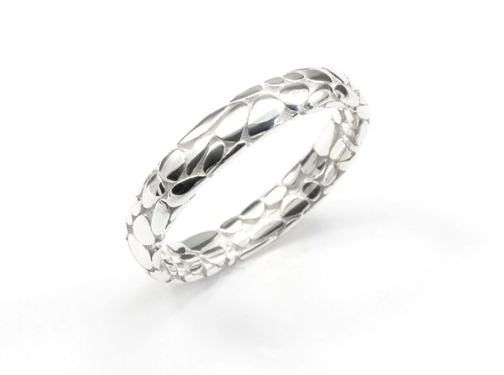 Music Skin Ring. 3d printed Wedding Ring unconventional