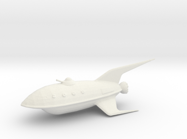 Planet Express Ship (Re-Sized) 3d printed