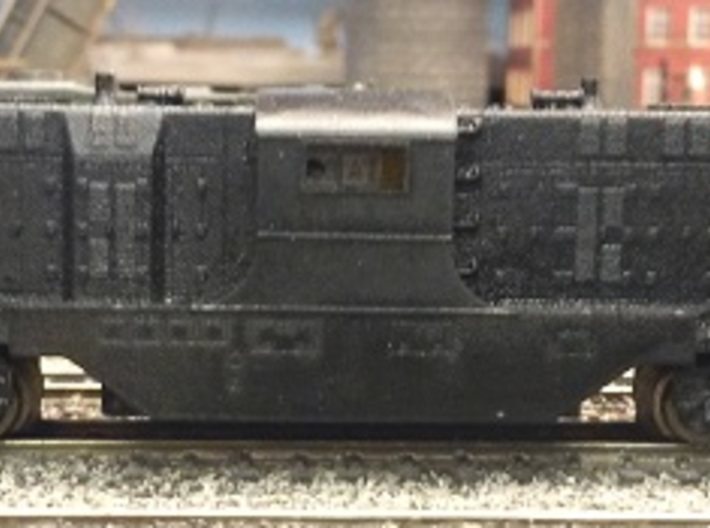 Baldwin DT6-6-2000 Shell Only N Scale 1:160 3d printed Primed Shell