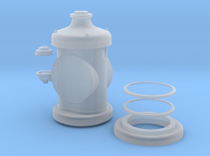 Tokheim clock face gasoline pump 3d printed