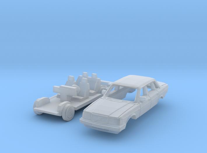 Volvo 240 Saloon (TT 1:120) 3d printed