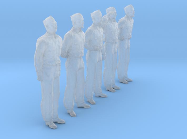 1/56 USN Officers Set435-01 3d printed