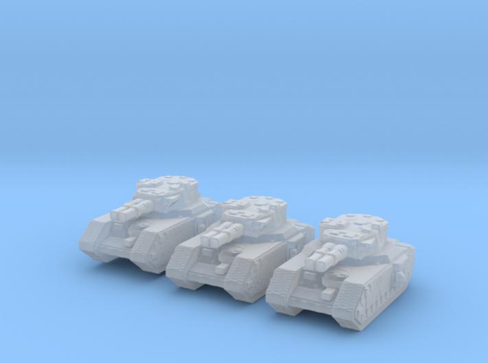 Macharius EPIC WH40k micro 3 models