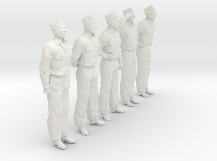 1/30 USN Officers Set435-01 3d printed