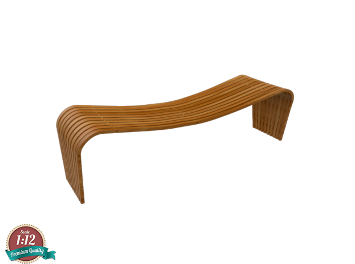 Miniature Dusko Lapcevic Tribal Bench 3d printed Miniature Dusko Lapcevic Tribal Bench