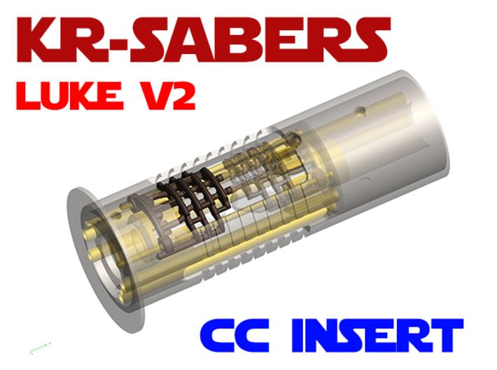KR Luke V2 - CC Add-on - Insert 3d printed
