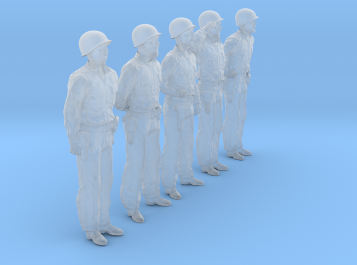 1/56 USN Officers Set423-01 3d printed