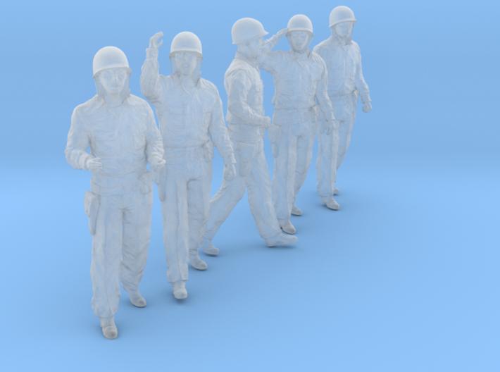 1/56 USN Officers Set424-02 3d printed
