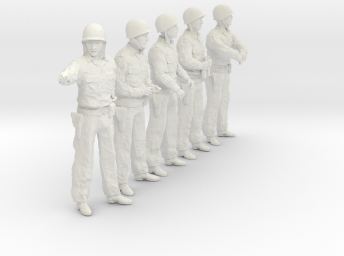 1/24 USN Officers Set423-02 3d printed