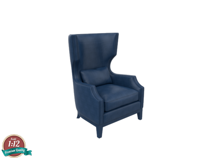 Miniature Adelis Armchair - Gramercy Home 3d printed Miniature Adelis Armchair - Gramercy Home