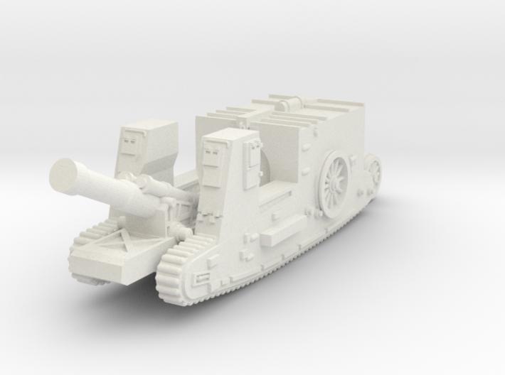 Mk I Gun Carrier (UK) 3d printed