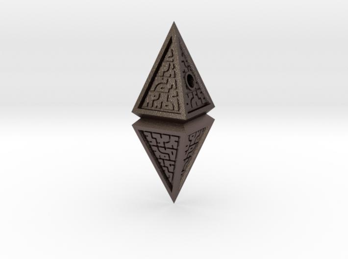 Hedron Pendant (v2) 3d printed