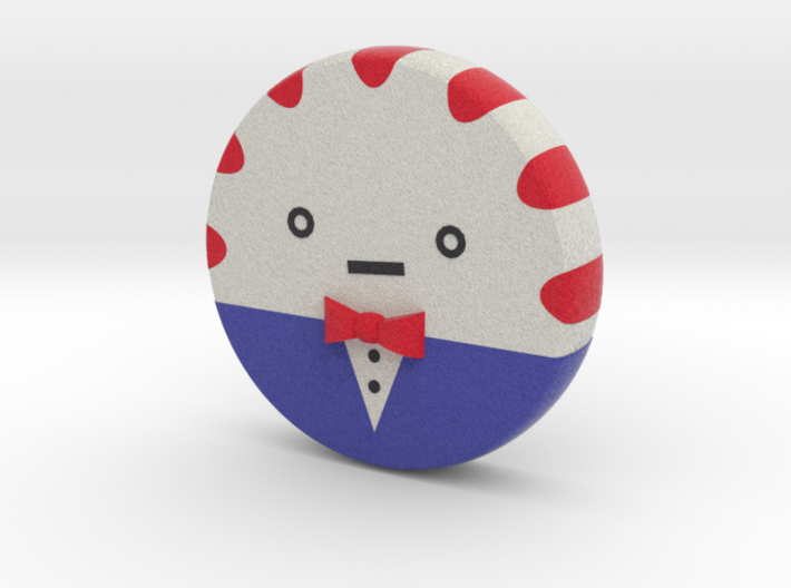 mini Peppermint Butler no arms and no legs 3d printed