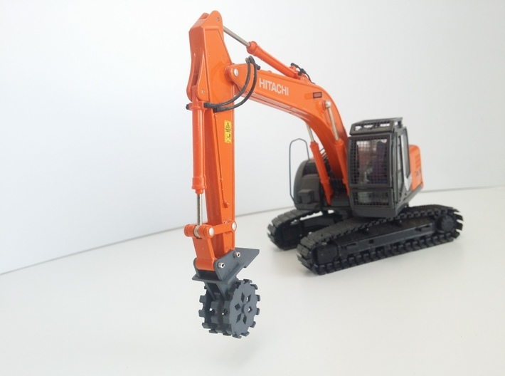 20 Ton Compactor Complete1 3d printed