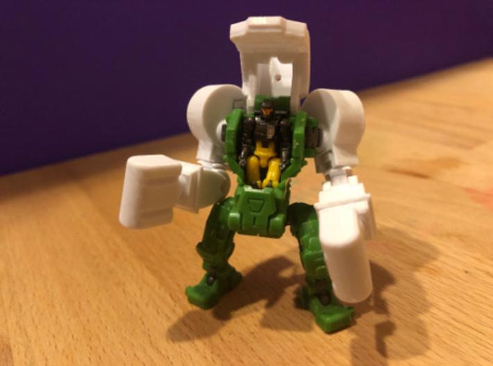 Powered Suit - PUG Shoulder 3d printed