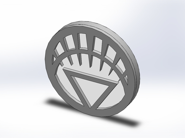 Lantern Corps Chip/Coin 3d printed