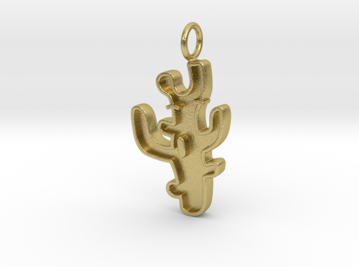 Funny Coral Pendant (Charm Bracelet, Keychain) 3d printed