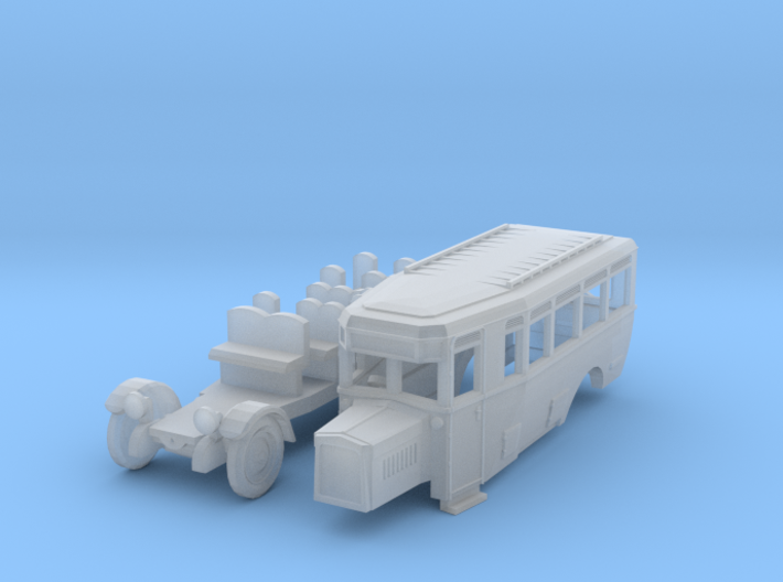 DAAG Reichspostbus (TT 1:120) 3d printed