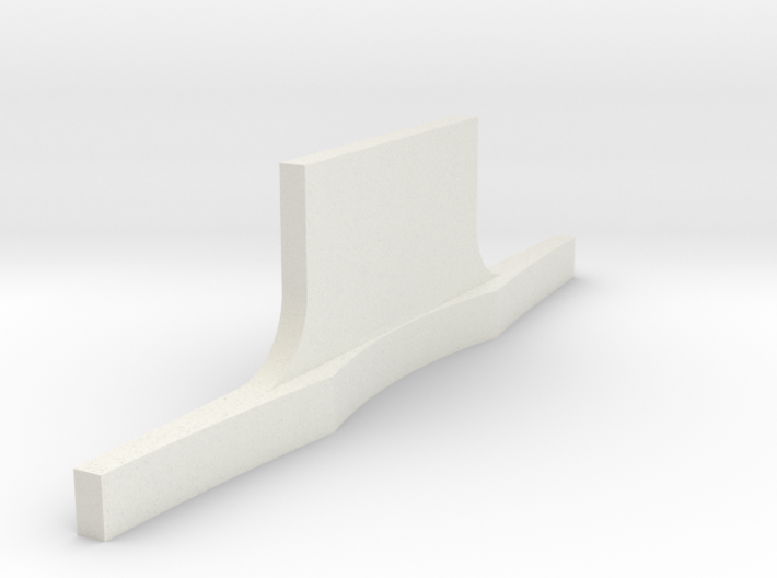 Rear bumper Revell Compatable 3d printed