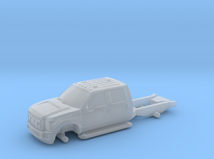 1-64-ford-pickup-truck-hollow 3d printed