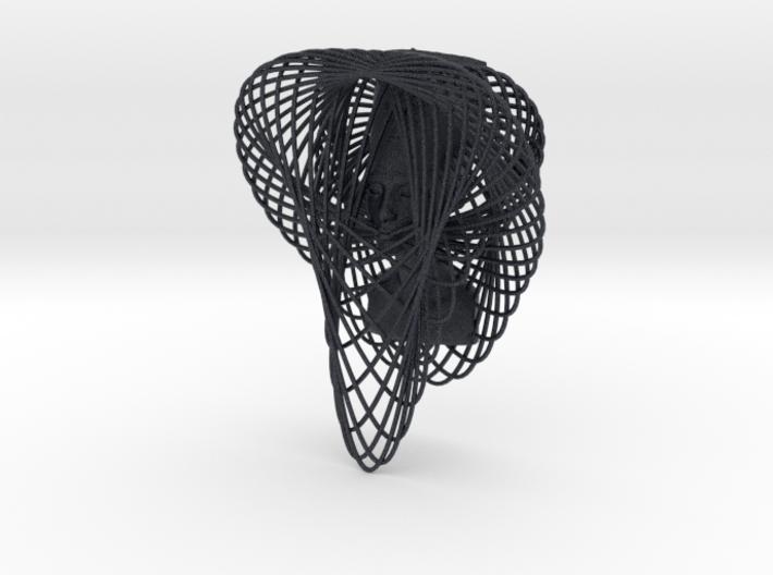Enneper Curve Art + Nefertiti (002a) 3d printed