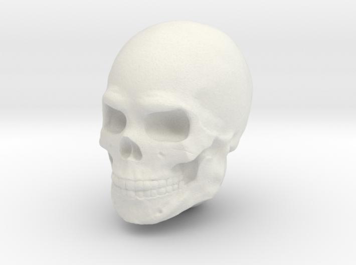 Single Skull Helmet for Sci-Fi 28mm scale miniatur 3d printed