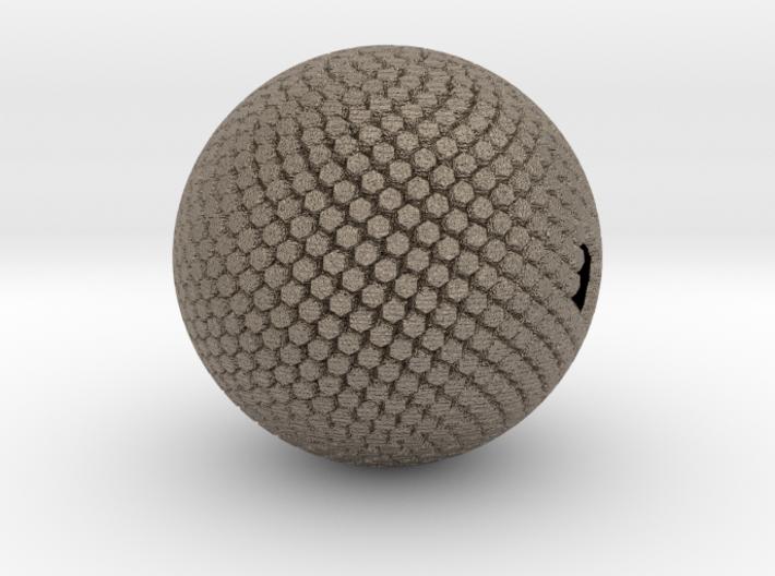 Fibonacci Sphere, large 3d printed