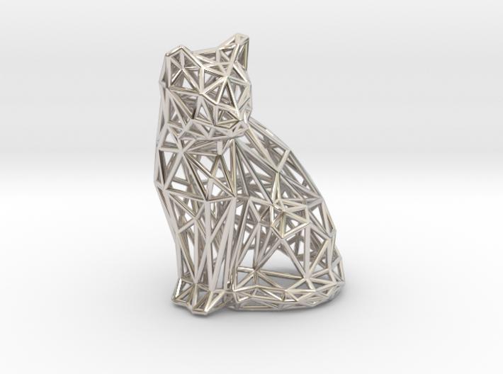 Sitting cat 3d printed