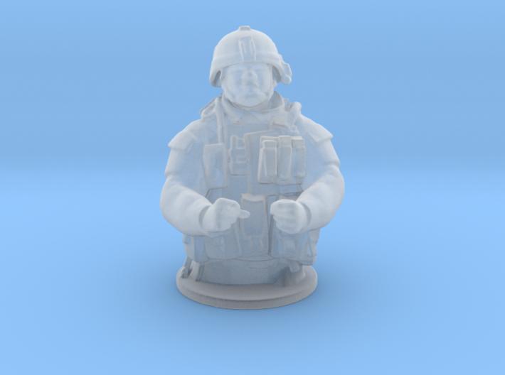 Tank Gunner HO Scale 3d printed