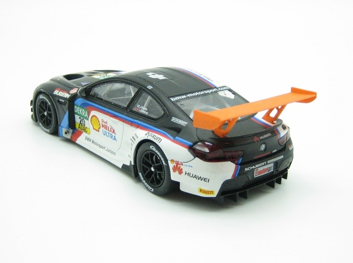 PSCA00605 rear wing for Carrera BMW M6 GT3 3d printed