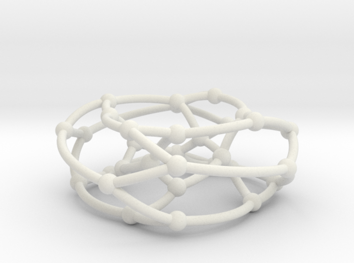 Dyck graph on torus 3d printed