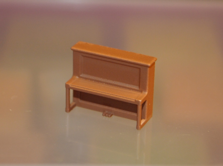 HO-Scale Pamie's Piano 3d printed Painted Production Sample