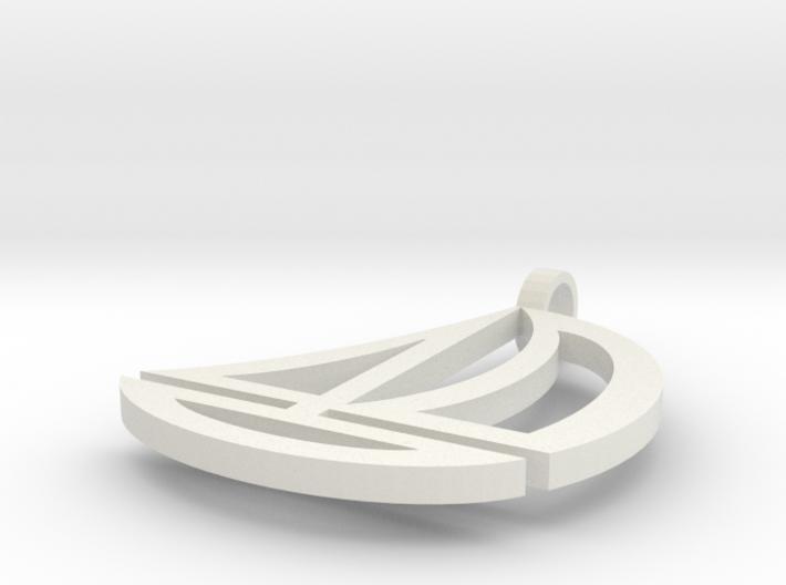 Boat earrings 3d printed
