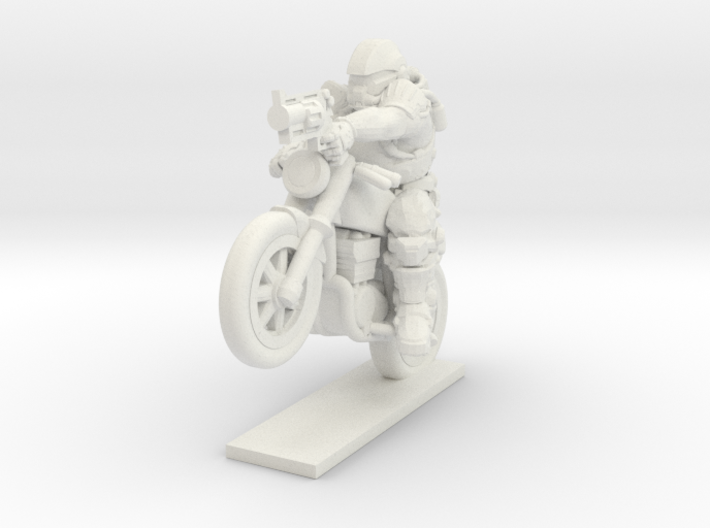 Motorcycle Assault 3d printed