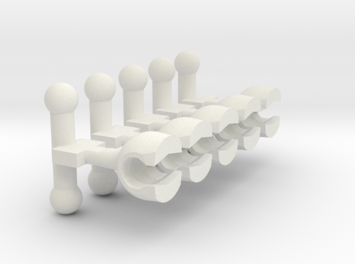 MTF Adapter MALE (x5) (v1 MTF only) 3d printed