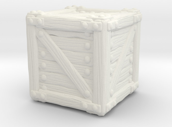 Small Crate A 3d printed