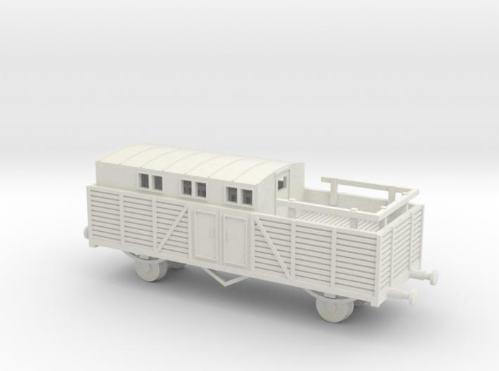 1/144 Reichsbahn Flakwagen  3d printed