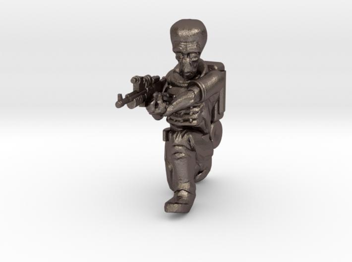 Alien Trooper (28mm Scale Miniature) 3d printed