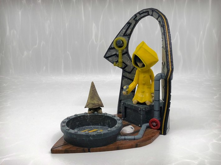 Little Nightmares - Shadow Projector 3d printed