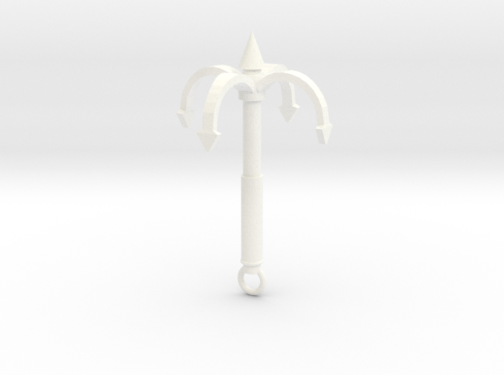 Grappling Hook 4 Prong 3d printed