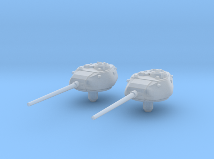 1:144 T34 85 Turret for Conversion X2 3d printed