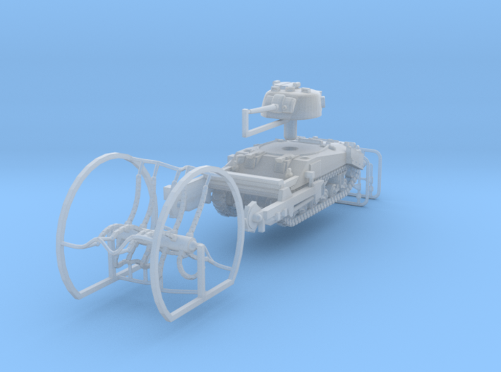 1:144 Sherman Crab II sweeping mode 3d printed