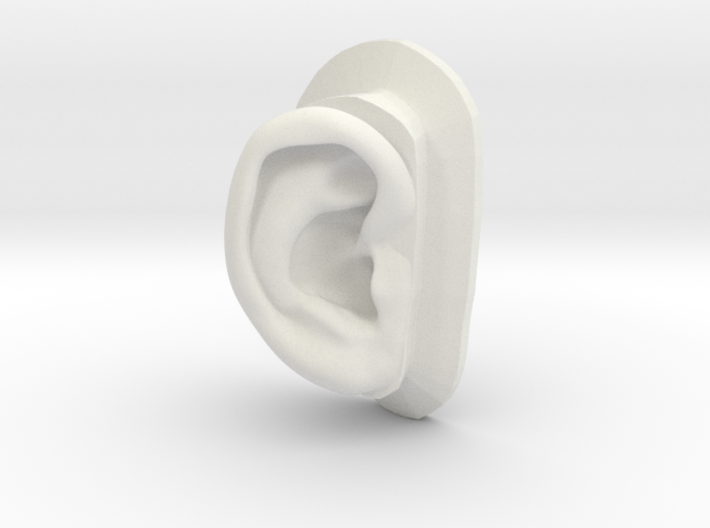 DIY Binaural Ear + Canal Anatomically Accurate - R 3d printed