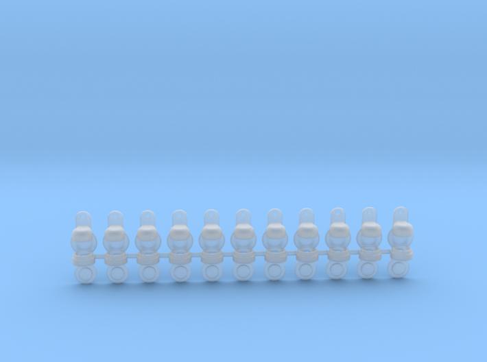 1/48 lantern 3MM LED 3d printed