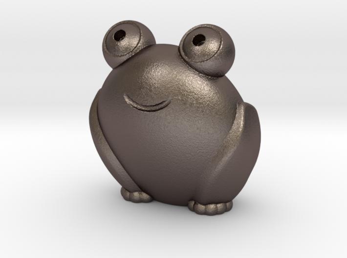 Pocket frog (v2) 3d printed