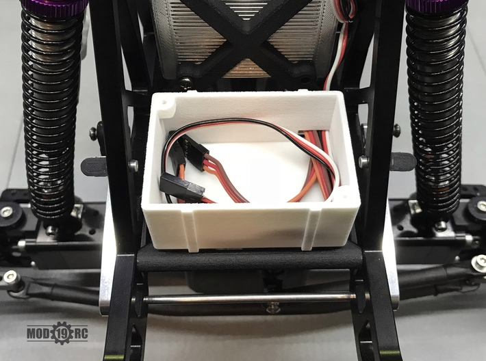 ZRD Fuel Cell Bottom 3d printed